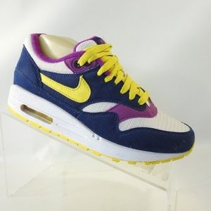 Nike Air Max Size 7 Blue Sneakers Shoes For Women